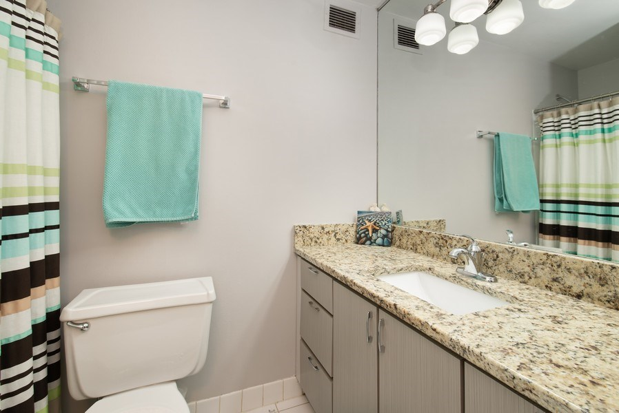 Real Estate Photography - 233 E. Erie, #902, Chicago, IL, 60611 - Bathroom