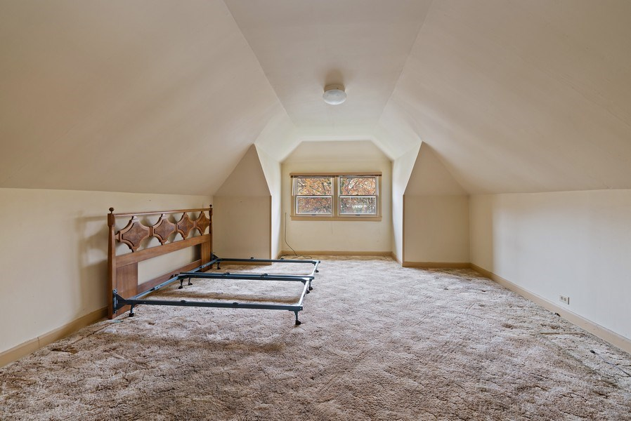 Real Estate Photography - 2130 W. Estes, Chicago, IL, 60645 - 3rd Bedroom