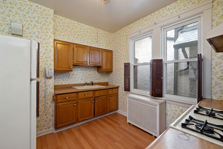 Real Estate Photography - 2130 W. Estes, Chicago, IL, 60645 - Kitchen