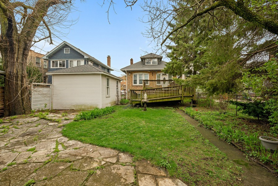 Real Estate Photography - 2130 W. Estes, Chicago, IL, 60645 - Back Yard