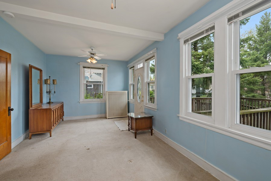 Real Estate Photography - 2130 W. Estes, Chicago, IL, 60645 - Family Room