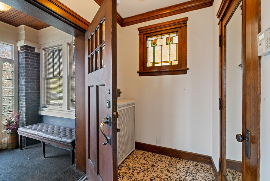 Real Estate Photography - 2130 W. Estes, Chicago, IL, 60645 - Foyer