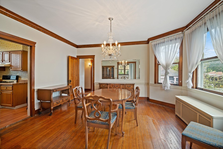 Real Estate Photography - 2130 W. Estes, Chicago, IL, 60645 - Dining Room