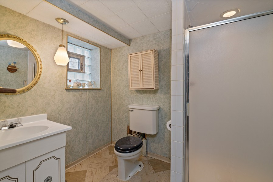Real Estate Photography - 2130 W. Estes, Chicago, IL, 60645 - 2nd Bathroom