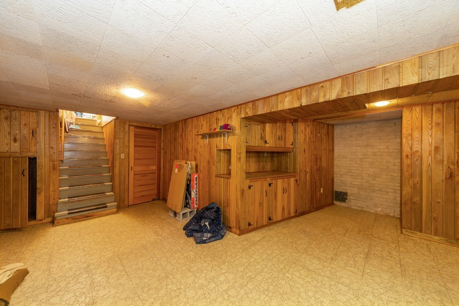 Real Estate Photography - 1887 Fenton Lane, Park Ridge, IL, 60068 - Basement