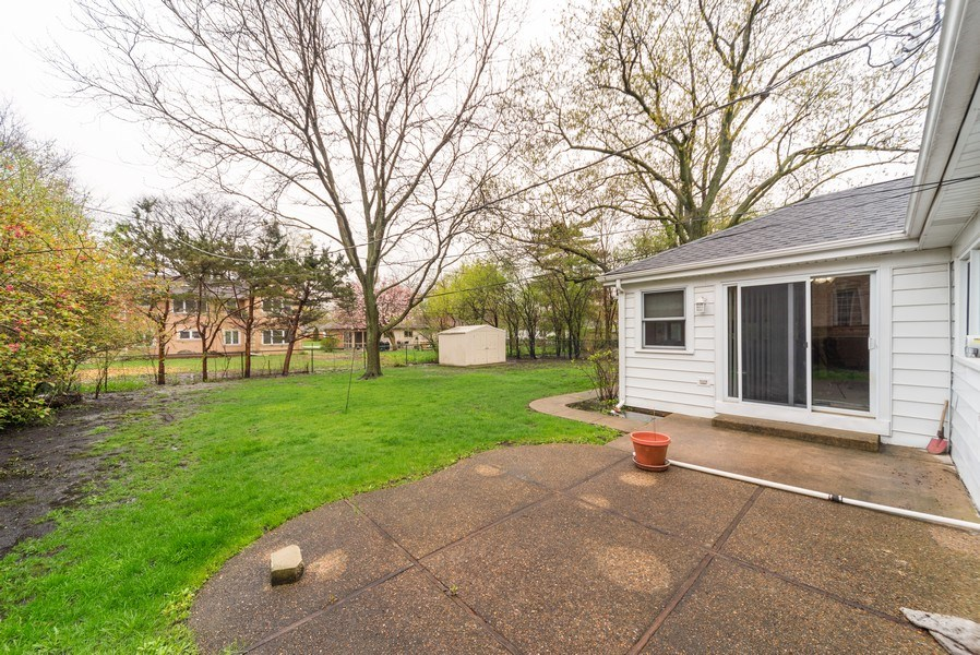 Real Estate Photography - 1887 Fenton Lane, Park Ridge, IL, 60068 - Back Yard