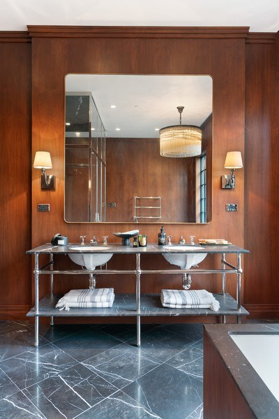 Real Estate Photography - 55 W. Schiller, Chicago, IL, 60610 - Master Bathroom