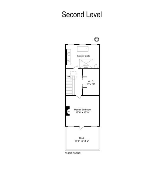 Real Estate Photography - 55 W. Schiller, Chicago, IL, 60610 - Floor Plan