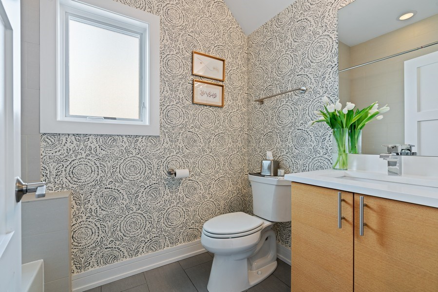 Real Estate Photography - 2343 W. Lyndale, #3, Chicago, IL, 60647 - Bathroom