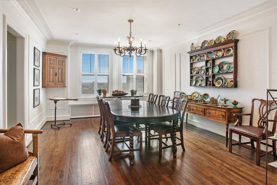 Real Estate Photography - 2440 Lakeview Ave, 12F, Chicago, IL, 60614 - Dining Room