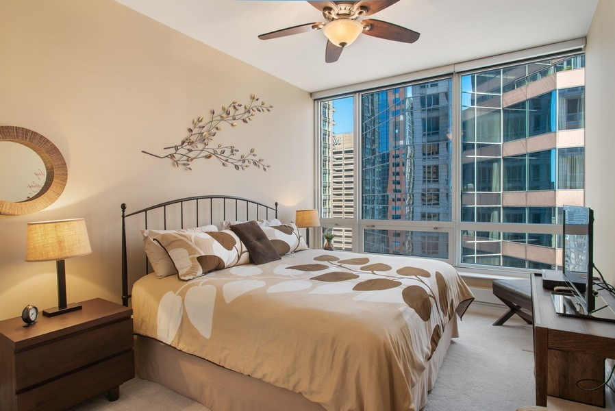 Real Estate Photography - 55 E Erie #1803, Chicago, IL, 60611 - 2nd Bedroom