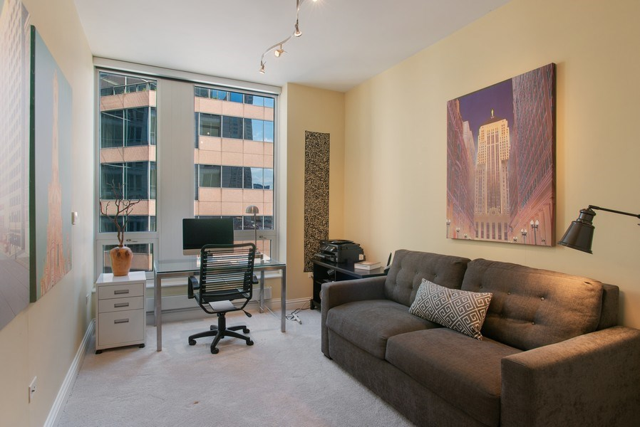 Real Estate Photography - 55 E Erie #1803, Chicago, IL, 60611 - 3rd Bedroom