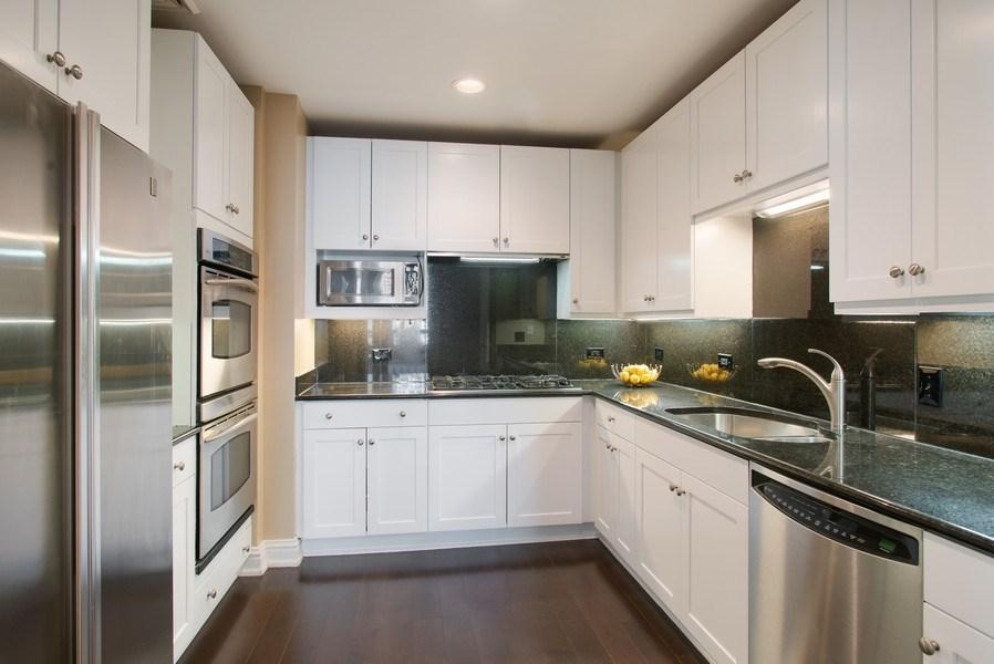 Real Estate Photography - 55 E Erie #1803, Chicago, IL, 60611 - Kitchen
