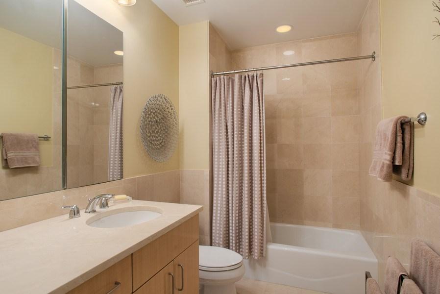 Real Estate Photography - 55 E Erie #1803, Chicago, IL, 60611 - Bathroom
