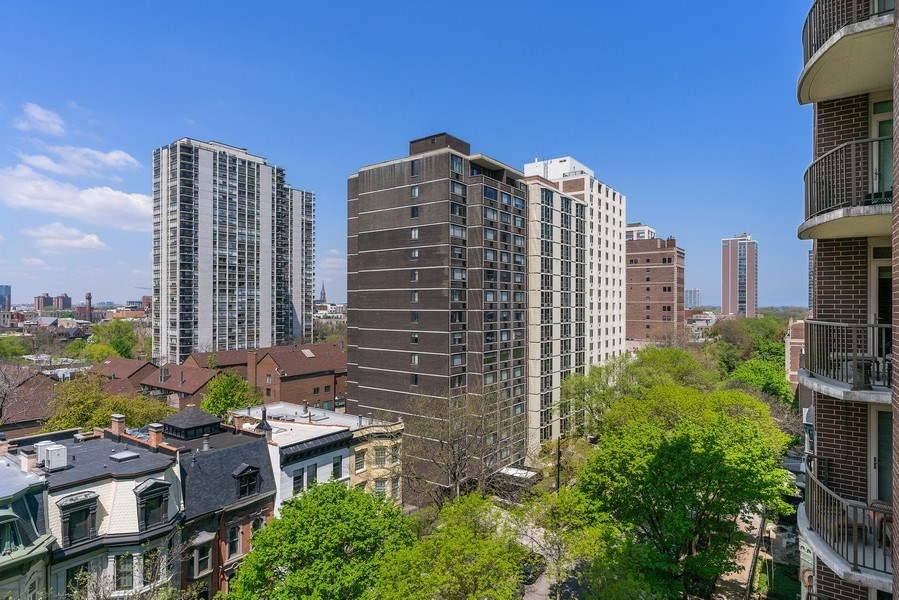 Real Estate Photography - 1301 N. Dearborn, #903-4, Chicago, IL, 60610 - View