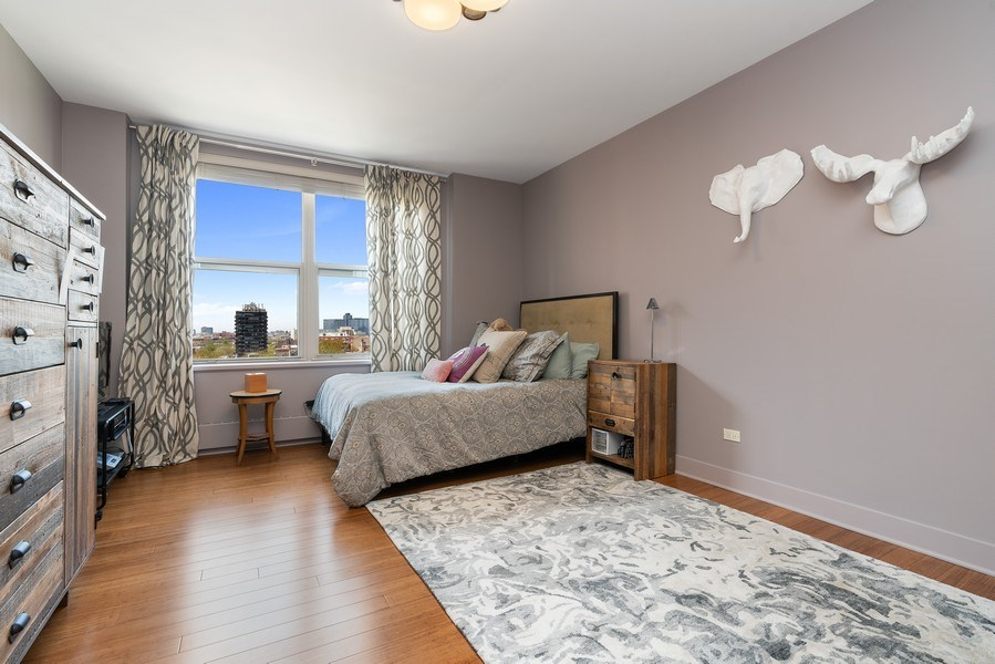 Real Estate Photography - 1301 N. Dearborn, #903-4, Chicago, IL, 60610 - 2nd Bedroom