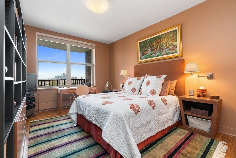 Real Estate Photography - 1301 N. Dearborn, #903-4, Chicago, IL, 60610 - 3rd Bedroom