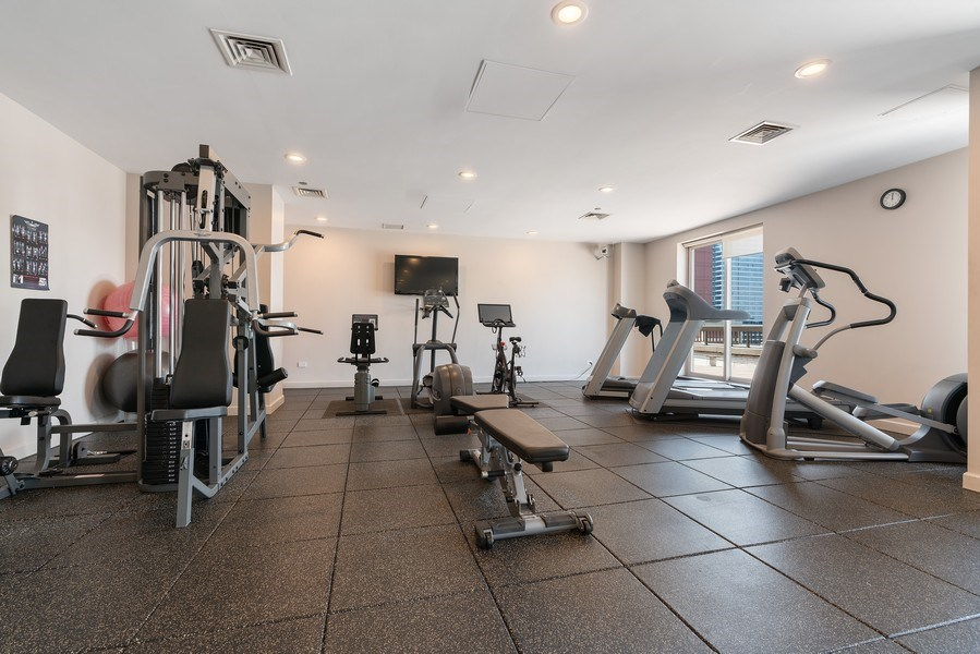 Real Estate Photography - 1301 N. Dearborn, #903-4, Chicago, IL, 60610 - Gym
