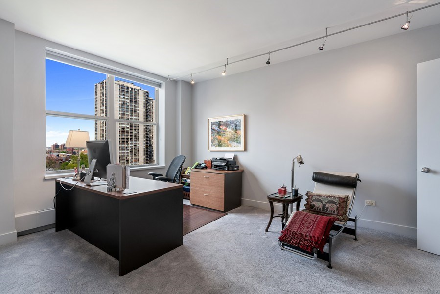 Real Estate Photography - 1301 N. Dearborn, #903-4, Chicago, IL, 60610 - Master Bedroom