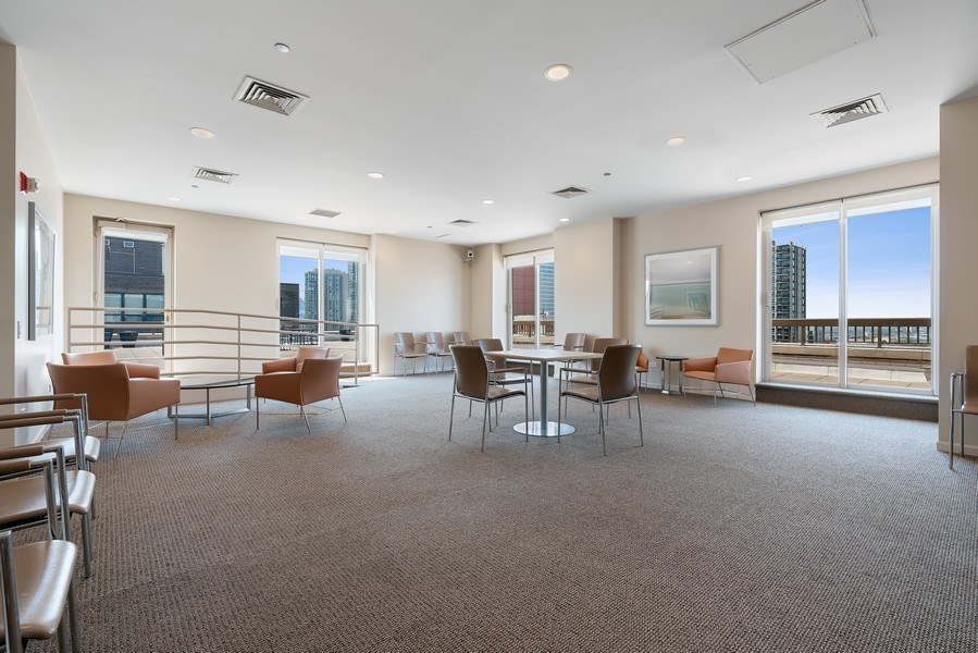 Real Estate Photography - 1301 N. Dearborn, #903-4, Chicago, IL, 60610 - Recreational Room