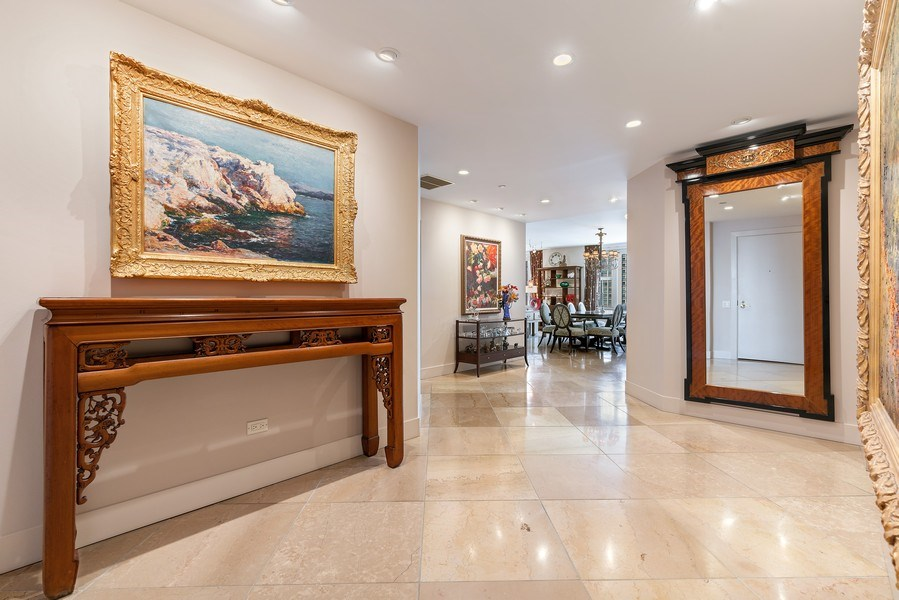 Real Estate Photography - 1301 N. Dearborn, #903-4, Chicago, IL, 60610 - Foyer