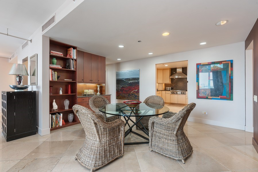Real Estate Photography - 1301 N. Dearborn, #903-4, Chicago, IL, 60610 - Dining Area