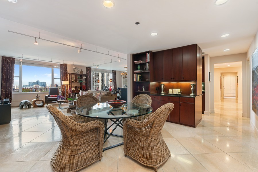 Real Estate Photography - 1301 N. Dearborn, #903-4, Chicago, IL, 60610 - Dining Area 2