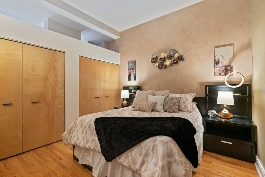 Real Estate Photography - 212 W.Washington, #1910, Chicago, IL, 60606 - Bedroom