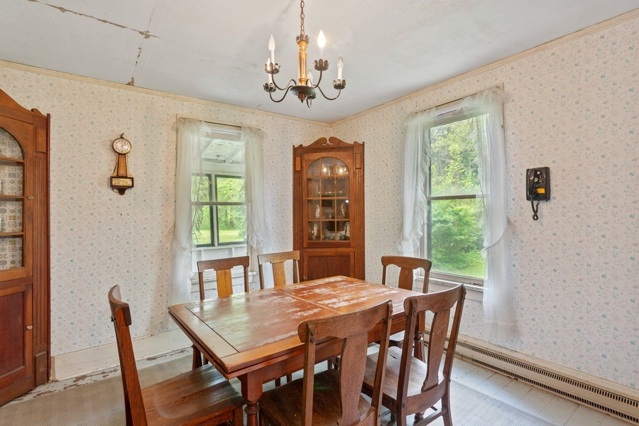 Real Estate Photography - 8691 Thomas Road, Lakeside, MI, 49116 - Dining Room
