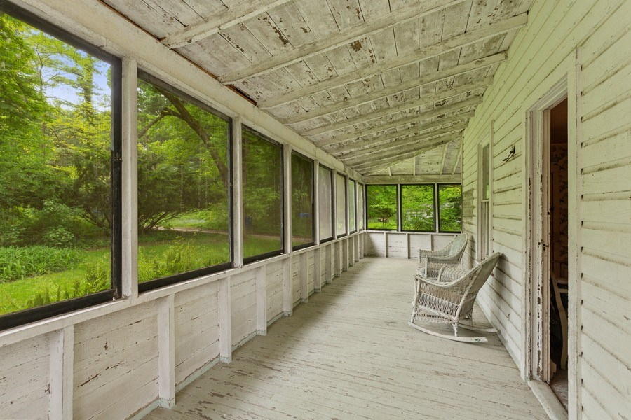 Real Estate Photography - 8691 Thomas Road, Lakeside, MI, 49116 - Porch