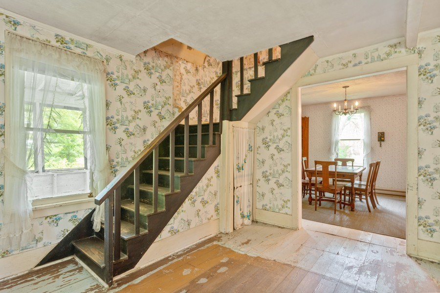 Real Estate Photography - 8691 Thomas Road, Lakeside, MI, 49116 - Staircase