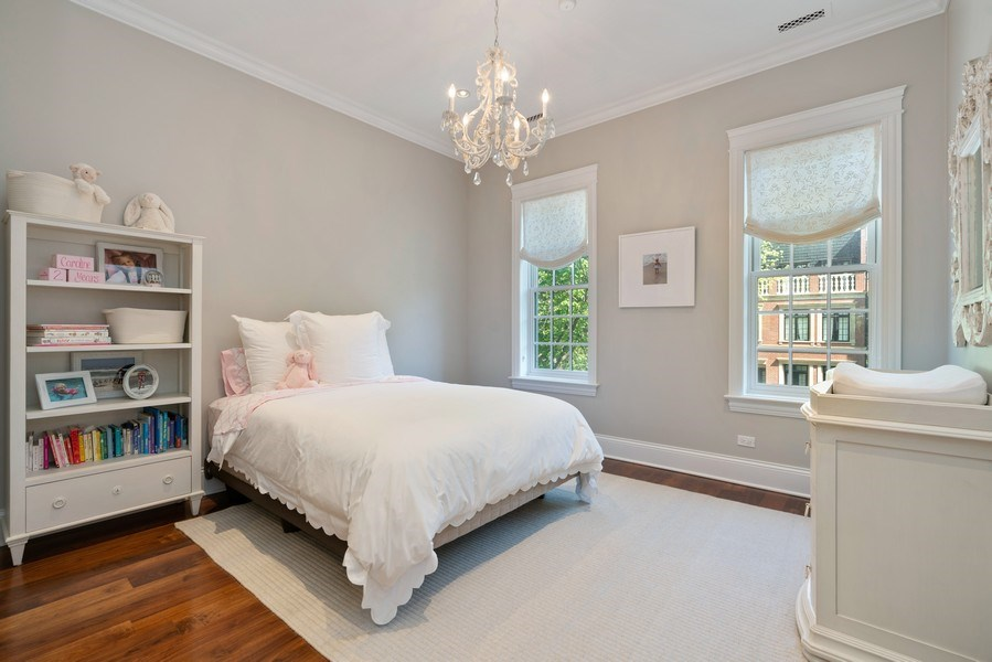 Real Estate Photography - 731 W. Melrose, #2, Chicago, IL, 60657 - 2nd Bedroom