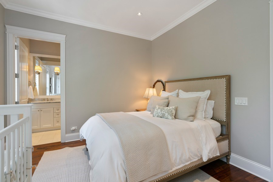 Real Estate Photography - 731 W. Melrose, #2, Chicago, IL, 60657 - 3rd Bedroom