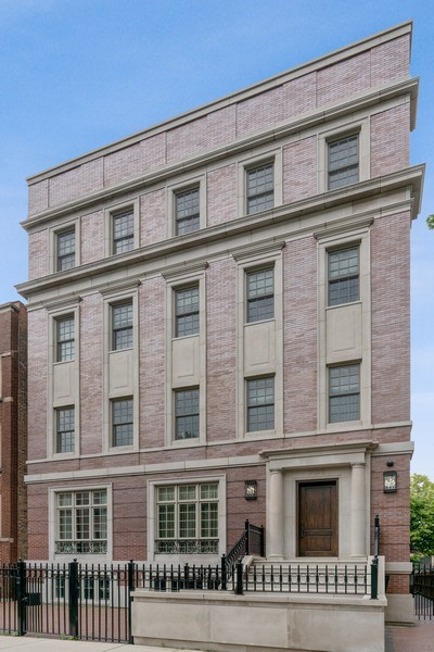 Real Estate Photography - 731 W. Melrose, #2, Chicago, IL, 60657 - Front View