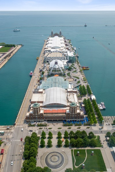 Real Estate Photography - 505 N Lake Shore Dr, Unit 5502, Chicago, IL, 60611 - View