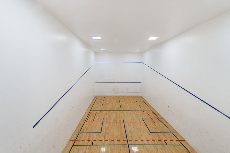 Real Estate Photography - 505 N Lake Shore Dr, Unit 5502, Chicago, IL, 60611 - Racquet Ball Court