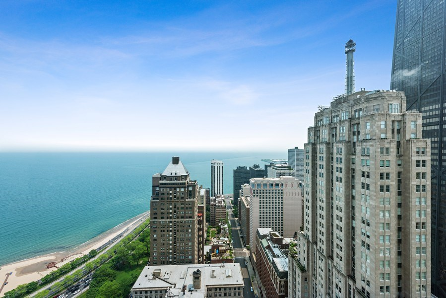 Real Estate Photography - 950 N Michigan Ave, 3605, Chicago, IL, 60611 - City View