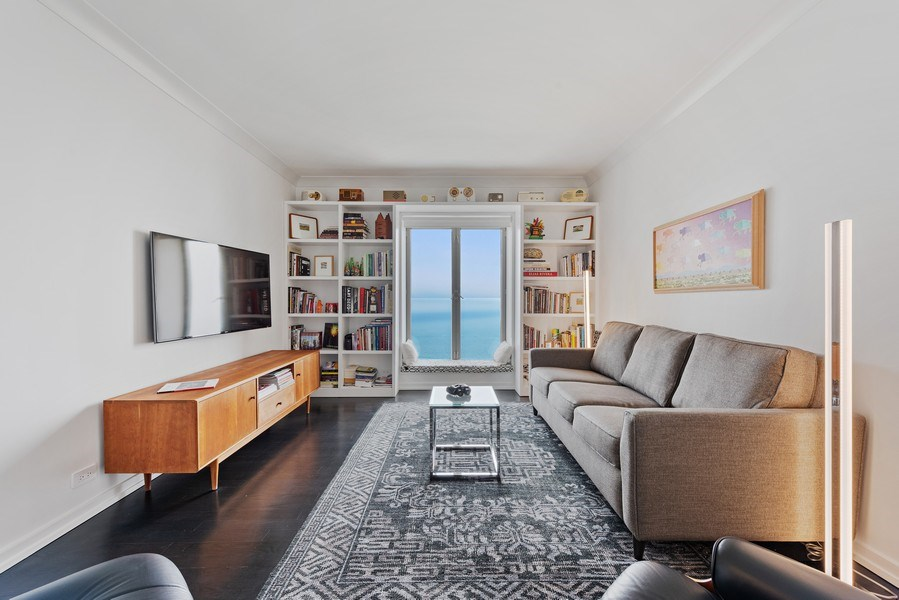 Real Estate Photography - 950 N Michigan Ave, 3605, Chicago, IL, 60611 - 2nd Bedroom