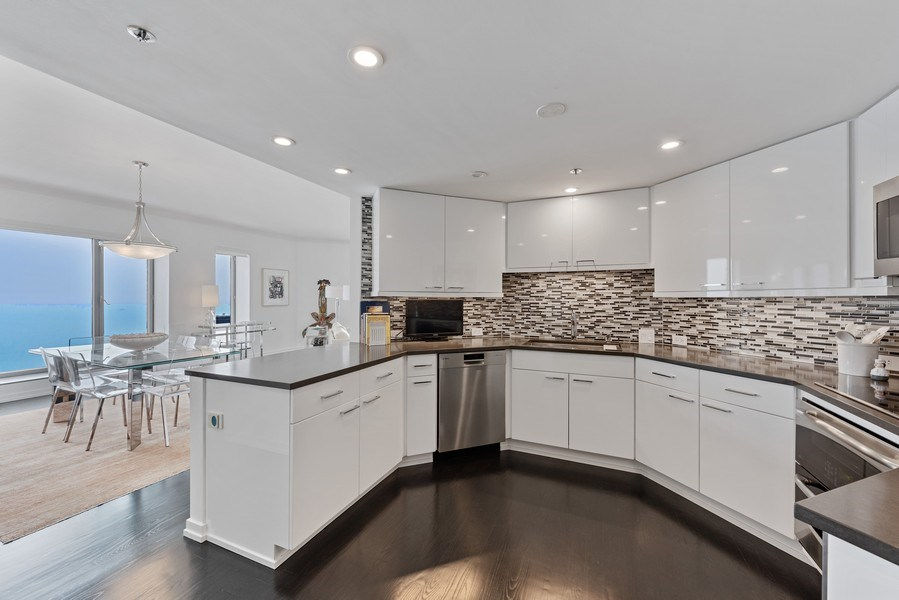 Real Estate Photography - 950 N Michigan Ave, 3605, Chicago, IL, 60611 - Kitchen