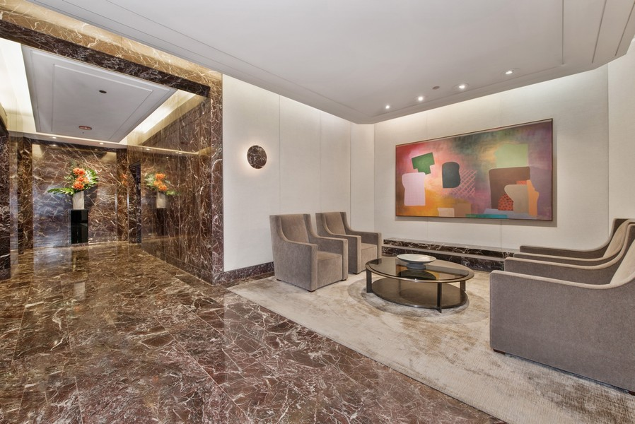 Real Estate Photography - 950 N Michigan Ave, 3605, Chicago, IL, 60611 - Interior Lobby