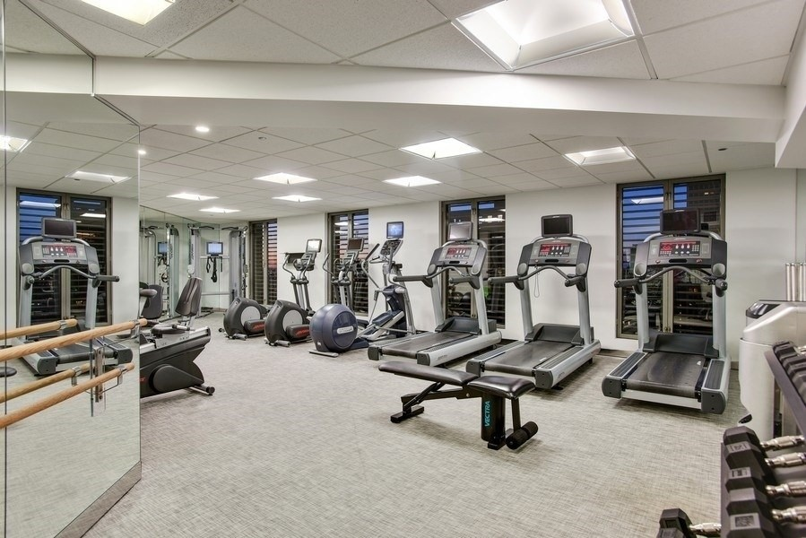 Real Estate Photography - 950 N Michigan Ave, 3605, Chicago, IL, 60611 - Exercise Room