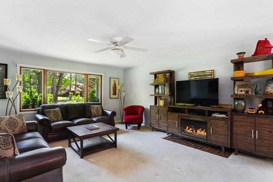 Real Estate Photography - 13892 Lakewood Drive, Harbert, MI, 49115 - Living Room