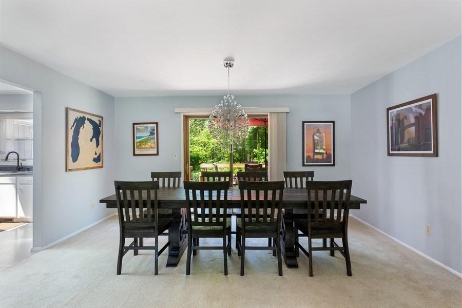 Real Estate Photography - 13892 Lakewood Drive, Harbert, MI, 49115 - Dining Room