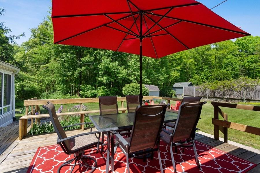 Real Estate Photography - 13892 Lakewood Drive, Harbert, MI, 49115 - Deck