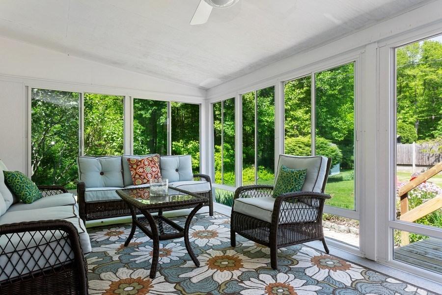Real Estate Photography - 13892 Lakewood Drive, Harbert, MI, 49115 - Sun Room