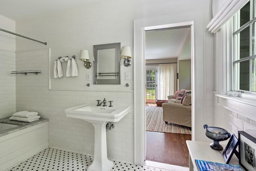 Real Estate Photography - 15120 Lakeshore Road, Lakeside, MI, 49116 - Master Bathroom