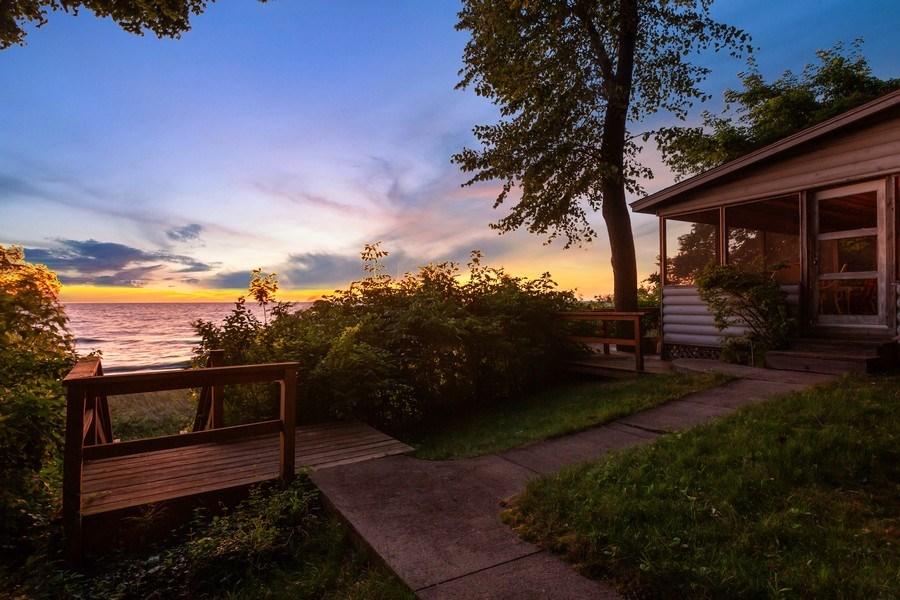 Real Estate Photography - 15120 Lakeshore Road, Lakeside, MI, 49116 - Beach House