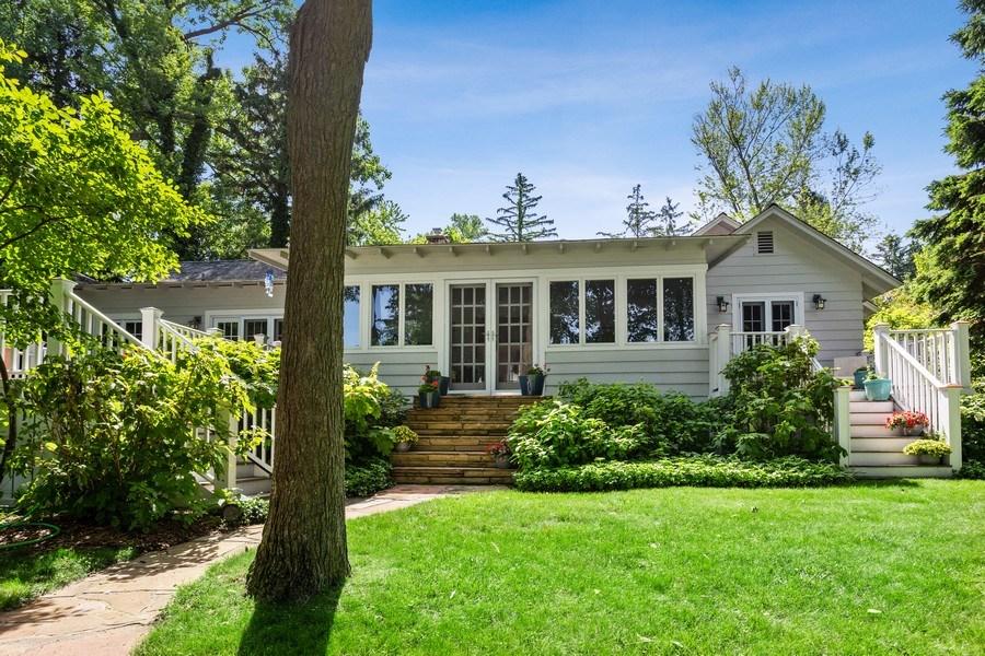 Real Estate Photography - 15120 Lakeshore Road, Lakeside, MI, 49116 - Backyard 15120 Lakeshore Lakeside