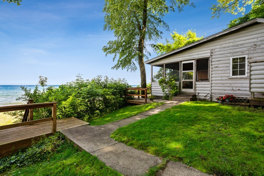 Real Estate Photography - 15120 Lakeshore Road, Lakeside, MI, 49116 - Guest House at Beach