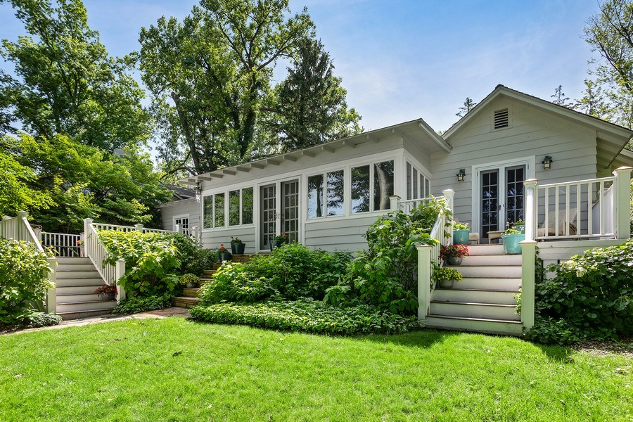 Real Estate Photography - 15120 Lakeshore Road, Lakeside, MI, 49116 - Rear View 15120 Lakeshore Lakeside